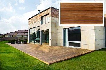 Dřevěná terasa Cumaru