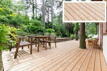 Dřevěná terasa thermo borovice