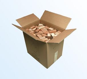 Palivové dřevo hranolky box