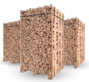 Palivové dřevo suché 33 cm