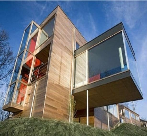 Dřevěná fasáda Kanadský cedr
