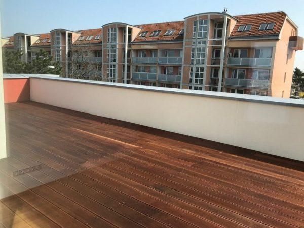 Realizace terasy pro projekt Pražačka